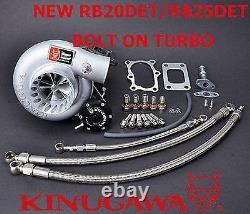 Kinugawa Turbocharger Bolt-On 3 Anti Surge RB20DET RB25DET TD06H-25G T3 10cm