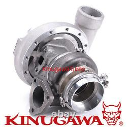 Kinugawa Turbocharger T67-25G 4 Anti Surge+ 8cm/3 bolt/V-Band/External 500HP