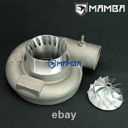 MAMBA 3 TD05 TD06 GT3071R Anti surge compressor housing + GTX 11+0 billet wheel