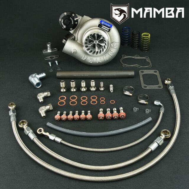 Mamba 9-6 Bolt-on 3 Anti Surge Turbocharger For Nissan Td42 Gu Td05h-18g 6cm