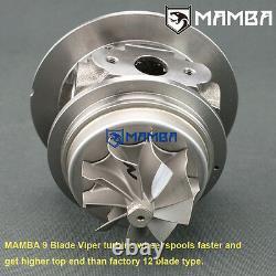 MAMBA 9-6 Turbocharger Top Mount For Nissan TD42 GQ 3 Anti Surge TD05H-18G 6cm
