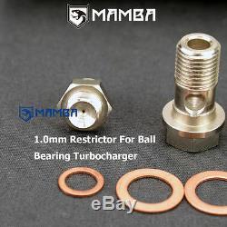 MAMBA Ball Bearing GTX3584R Tubo CHRA with 4 Anti Surge A/R. 70 Comp. Housing