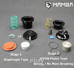 MAMBA Ball Bearing Turbocharger 4 Anti surge GTX3076R with A/R. 64 T25 5 Bolt Hsg