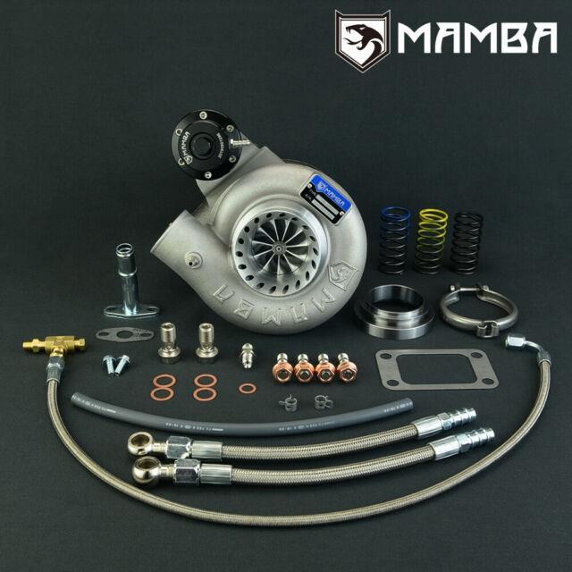 Mamba Billet Turbocharger 3 Anti Surge Td06sl2-20g With 8cm T3 V-band Intel' Gate