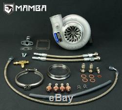MAMBA GTX Billet Turbocharger 3 Anti Surge TD06H-GT3076 with T3 10cm V-Band Hsg