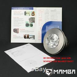 MAMBA GTX Billet Turbocharger 3 Anti Surge TD06SL2-20G with T3 10cm V-Band Hsg