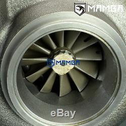 MAMBA GTX Billet Turbocharger 4 T67-25G Anti Surge with 10cm. 73 T3 V-Band Hsg