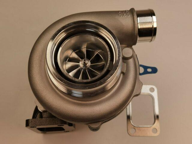 Performance Dual Ball Bearing Turbolader. 82 A/r Hot T3.60 Cold Turbo Gtx3076r