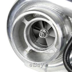 Polished T3/t4 Exhaust T04e A/r. 63 Anti-surge Turbo Charger+internal Wastegate