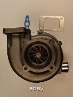 Racing GTX3076R dual Ceramic Ball bearing Turbolader 1.06 A/R 4 bolt T3.60 cold