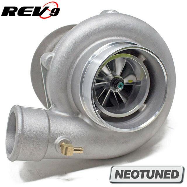 Rev9 Tx-66-62 Billet Wheel Anti-surge Turbo. 70 Ar T4 Divided 3 V-band Exhaust