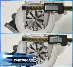 Stage 3 T3/T4.57A/R Hybrid Turbocharger 5 Bolt Turbine Anti-Surge Turbo Charger