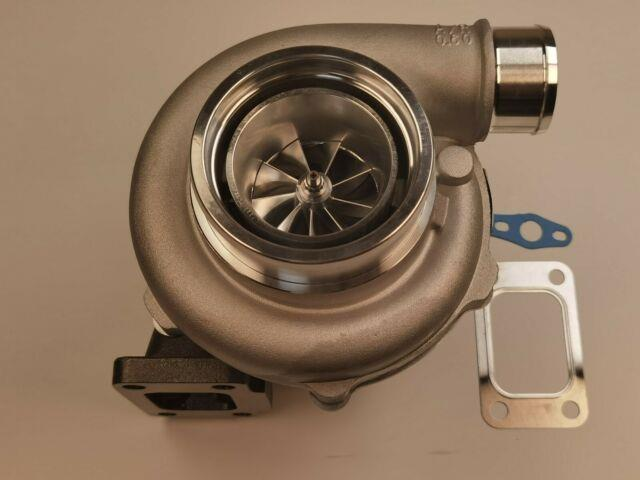 T3 0.63 A/r 4 Bolt. 60 Compressor Gtx3076r Gt35 Ball Bearing Turbolader Turbo