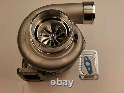 T3 1.06 A/R V-band 10 blade Billet Turbocharger GTX3582R GTX35 Dual Ball Bearing