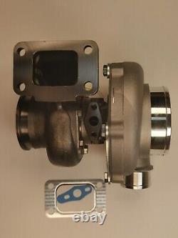 T3 A/R. 82 V-BAND Racing Turbocharger GT35 GTX3076R A/R. 60 Ceramic Ball Bearing