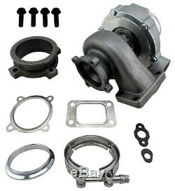 T3 Flange 4 Bolt GT35 GT3582 A/R. 70 Anti-Surge Turbo Charger Universal 600+HP