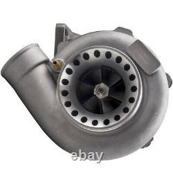 T3 GT3582 GT35 A/R 0.63 0.7 Anti Surge Turbocharger Oil Drain Return Feed Line