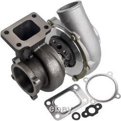 T3 GT3582 GT35 Turbine A/R 0.63 0.7 Anti Surge Compressor Housing for 4/6 cyl