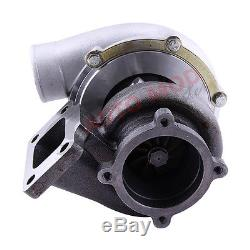 T3 GT3582 GT35 turbine A/R 0.63 compresor 0.7 Anti Surge Turbo AMD