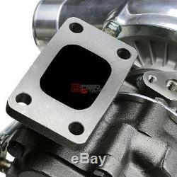 T3/t4 V-band Flange T04e A/r. 63 Polished Anti-surge Turbo/turbocharger+wastegate