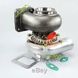 T4-6 GT35 a/r 0.70 anti-surge a/r. 96 3 v-band oil&water turbo Turbocharger 4U