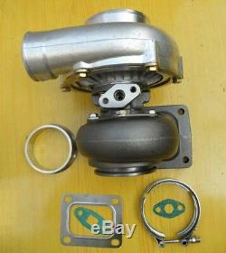 T4 GT35 T04Z a/r 0.70 anti-surge a/r. 68 Exhaust 3 v-band turbo Turbocharger