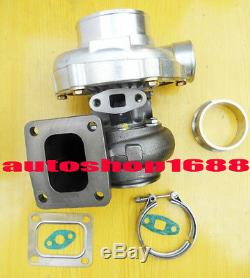 T4 GT35 T66 a/r 0.70 a/r. 96 turbine 3 v-band water&oil universal Turbocharger