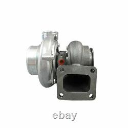 T4 GT35 Turbo Charger Turbocharger Anti-Surge 500HP 0.68 AR + Oil Fitting Drain