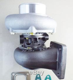 T66 GT35 GT3584 turbo T4 flange turbocharger. 70 A/R anti-surge. 68 A/R turbine