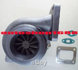 T66 GT35 GT3584 turbo T4 turbocharger. 70 A/R anti-surge. 68 A/R rear oil cooled