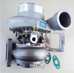 T66 GT35 TO4Z T04R T4 turbocharger. 70 A/R anti-surge. 81 A/R rear water&oil