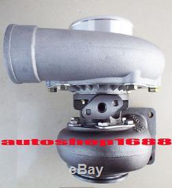 T66 T04S GT3584 T4 turbocharger. 70 A/R anti-surge compressor. 68 A/R T04Z T04R