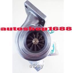 T66 T04S GT3584 T4 turbocharger. 70 A/R anti-surge water. 68 A/R T04Z T04R Turbo