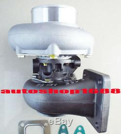 T66 T04S GT3584 turbo T4 turbocharger. 70 A/R anti-surge. 68 A/R oil T04Z T04R