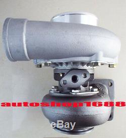 T66 T04S GT35 turbo T4 turbocharger. 70 A/R anti-surge. 96 A/R oil T04Z T04R