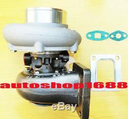 T66 T04Z T04S GT35 T4 turbocharger. 70 A/R anti-surge. 81 A/R rear Exhaust oil
