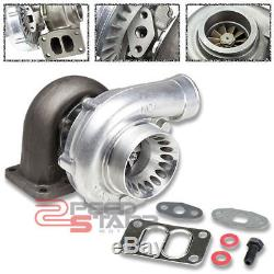 T70.70 T3 4-bolt Manifold Flange 3.25 V-band Downpipe Anti-surge Turbo Charger