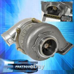 T70 T3.70 A/R Anti-Surge Turbo. 70 Compressor Turbocharger + Black Heat Shield