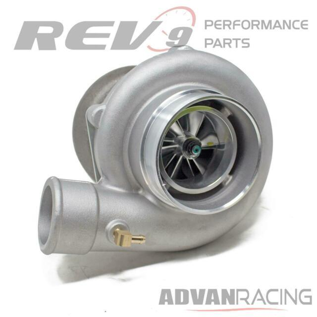Tx-66-62 Billet Wheel Anti-surge Turbo. 70 Ar T4 Divided 3 In. V-band Exhaust
