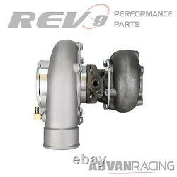 TX-66-62 Billet Wheel Anti-Surge Turbocharger. 63 AR T3 5-Bolt Exhaust
