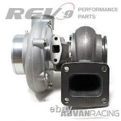 TX-66-62 Billet Wheel Anti-Surge Turbocharger. 68 AR T4 3 in. V-Band Exhaust