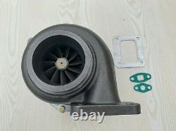 Turbo charger GT35 Billet T4 flange. 70 A/R Cold anti-surge. 96 A/R V-band hot