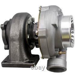 Turbo manifold Kit GT35 GT3582R T3 a/r. 63 turbine a/r. 70 Anti-Surge compressor