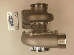 Turbocharger A/R 0.63 V-band GT35 GTX3576R Ceramic Ball Bearing T3 flange. 60