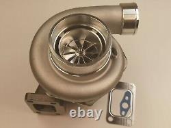 Turbocharger A/R 0.63 V-band turbine T3 a/r. 60 cold turbo GTX3576R Ball Bearing