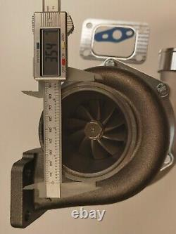Turbolader A/R 0.63 V-band GTX3576R Dual Ball Bearing Billet T3 a/r. 60 turbo