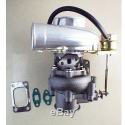 Turbolader GT30 GT3582 T3T4 T04E. 70 A/R compressor. 48 A/R turbine A/R T3 turbo