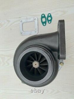 Turbolader GT35 Billet T4 flange. 70 A/R anti-surge. 96 A/R V-band turbine turbo