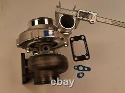 Universal Billet Turbolader GTX3576R A/R. 60 ceramic Ball Bearing T3 0.82 V-band