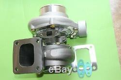 Universal Fitment T4 Billet. 70 A/R trim anti-surge. 68 A/R hot Turbocharger